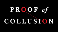 The front cover of the book Proof of Collusion: How Trump Betrayed America by Seth Abramson, published by Simon & Schuster.